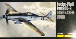 Dragon 5575 Samolot Focke-Wulf Fw 190D-9 Langnasen-Dora