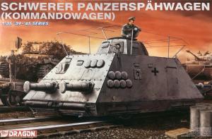 Dragon 6071 Pancerny wagon dowodzenia model 1-35