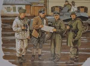 Dragon 6144 Figurki Commanders Conference (Kharkov 1943)