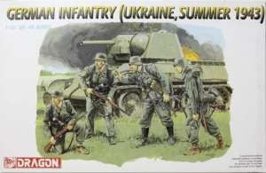 Dragon 6153 Niemiecka piechota, Ukraina 1943