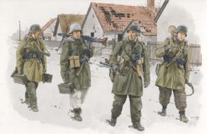 Dragon 6194 Figurki Panzergrenadiers, Dywizja Wiking Węgry 1945