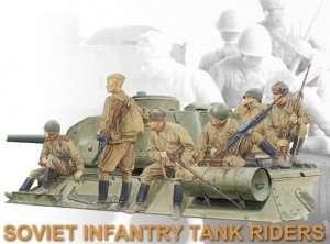 Dragon 6197 Figurki radzieckiej piechoty na czołgu
