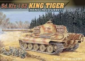 Dragon 6208 Sd.Kfz.182 KingTiger Henschel Turret