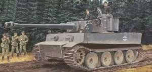 Dragon 6252 Czołg Tiger I Pz.Kpfw. VI Ausf. E Sd.Kfz.181