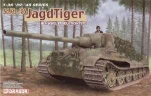 Dragon 6285 Sd.Kfz.186 Jagdtiger Henschel Production Type