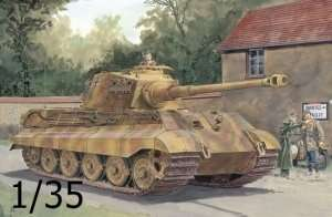 Dragon 6303 King Tiger Henschel Turret w/Zimmerit