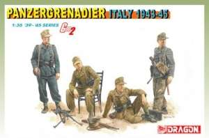 Dragon 6348 Panzergrenadier - Italy 1943-45