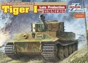 Dragon 6383 Pz.Kpfw.VI Ausf.E Tiger I (Late Production) w/Zimmerit