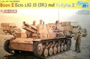 Dragon 6440 Bison II 15cm s.IG 33 (Sfl.) auf Pz.Kpfw.II