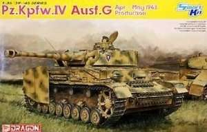 Dragon 6594 Pz.Kpfw.IV Ausf.G APR-MAY 1943 Production
