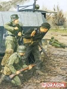 Dragon 6651 Figurki niemieccy żołnierze Leningrag 1941
