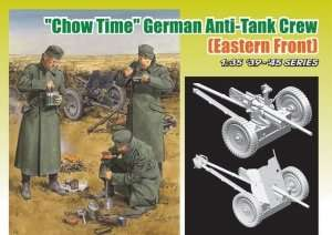 Dragon 6697 Chow Time German Anti-Tank Crew w/3.7cm PaK 36/37