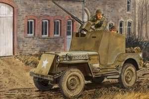Dragon 6714 Armored 1/4 Ton 4x4 Truck w/.50-cal Machine Gun