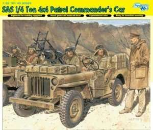 Dragon 6724 SAS 1/4 Ton 4x4 Commanders Car