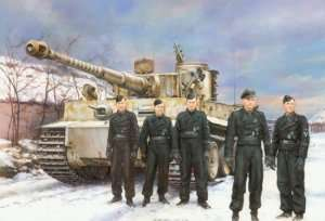 Dragon 6730 Tiger I Early Production Pz.Kpfw. VI Ausf.E Wittmanns Command Tiger