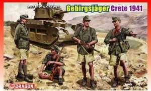 Dragon 6742 Figurki - Gebirgsjager Kreta 1941
