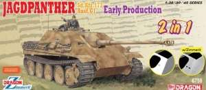Dragon 6758 Jagdpanther Early Production 2in1