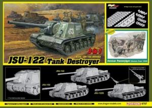 Dragon 6787 Niszczyciel czołgów ISU-122 model 3 w 1