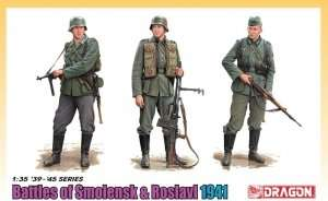 Dragon 6791 Batlle of Smolensk & Roslavl 1941 (3 Figure Set)