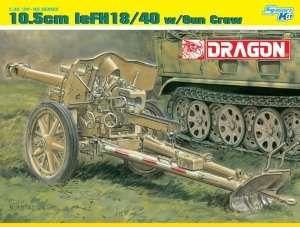 Dragon 6795 10.5cm leFH18/40 w/Gun Crew