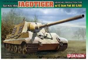 Dragon 6827 Jagdtiger w/12.8cm PaK 80 (L/66)