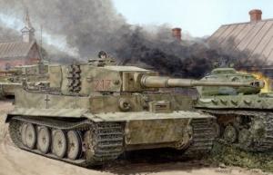 Dragon 6888 Czołg Tiger I z Zimmerit -em Otto Carius