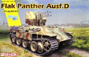 Dragon 6899 Flak Panther Ausf.D skala 1-35