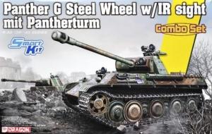 Dragon 6941 Czołg Panther G z Pantherturm - Combo Set
