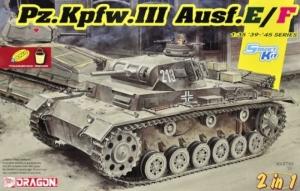 Dragon 6944 Pz.Kpfw.III Ausf.E/F 2 w 1 model w skali 1-35