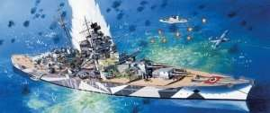 Dragon 7047 German Battleship Tirpitz