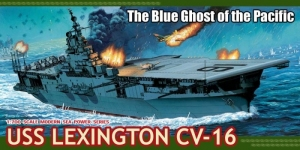Dragon 7051 Lotniskowiec USS Lexington CV-16 model 1-700