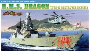 Dragon 7109 Niszczyciel przeciwlotniczy HMS Type 45
