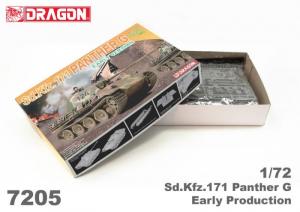 Dragon 7205 Czołg Sd.Kfz.171 Panther G model 1-72