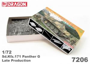 Dragon 7206 Czołg Sd.Kfz.171 Panther G model 1-72