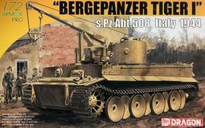 Dragon 7210 Bergepanzer Tiger I s.Pz.Abt.508 Włochy 1944