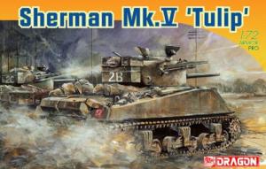 Dragon 7312 Sherman Mk.V Tulip model 1-72