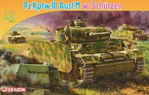 Dragon 7323 czołg Pz.Kpfw.III Ausf.M z Schurzen