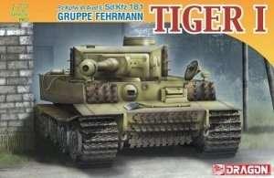 Dragon 7357 Pz.Kpfw.VI Ausf.E Sd.Kfz.181 GRUPPE FEHRMANN TIGER I