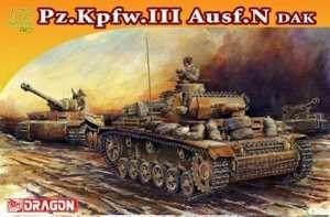 Dragon 7386 Czołg Pz.Kpfw.III Ausf.N DAK
