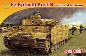 Dragon 7407 Pz.Kpfw.III Ausf.N w/Side-Skirt Armor