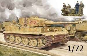 Dragon 7440 Pz.Kpfw.VI Ausf.E Tiger I Late Production w/Zimmerit + Tiger Aces
