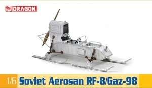 Dragon 75044 Aerosanie RF-8 / GAZ-98 skala 1-6