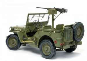 Dragon 75052 Jeep US 1/4-ton 4x4 Truck w/M2 .50cal Machine Gun