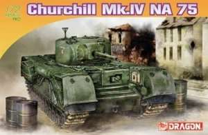Dragon 7507 Churchill Mk. IV NA 75 model czołgu