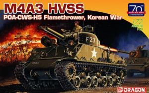 Dragon 7524 Czołg M4A3 HVSS wojna koreańska
