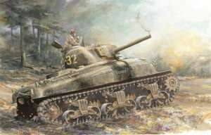 Dragon 7568 M4A1 Sherman Normandia skala 1-72