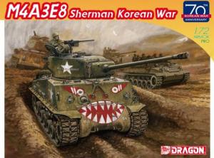 Dragon 7570 Czołg M4A3E8 Sherman wojna koreańska