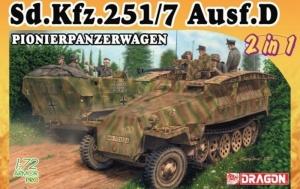 Dragon 7605 Sd.Kfz.251/7 Ausf.D Pionierpanzerwagen