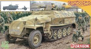 Dragon 7611 Transporter Sd.Kfz.251 Ausf.C z 3,7cm PaK 35/36