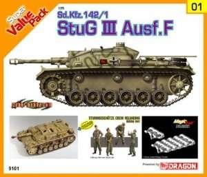Dragon 9101 Sd.Kfz.142/1 StuG.III Ausf.F